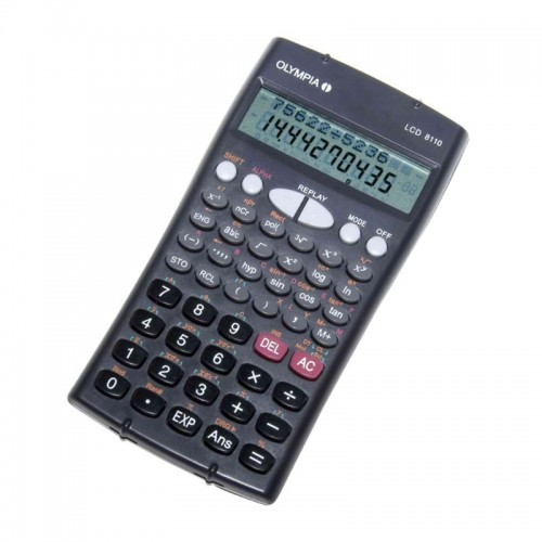 Calculatrice scientifique LCD 8110